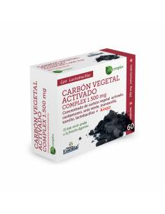 Carbon vegetal 1500mg 60cap