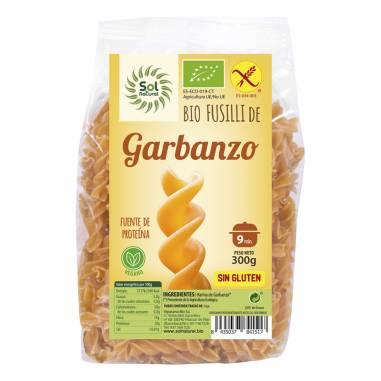 Fusilli Garbanzo S/G Bio 300g