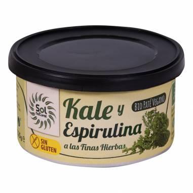 Pate Kale Espirulina Finas Hierbas...