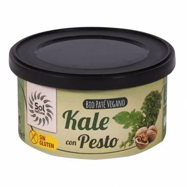 Pate Kale Con Pesto Bio 125g