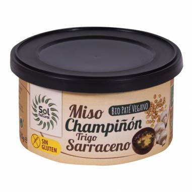 Pate Miso Champiñon Trigo Sarraceno...