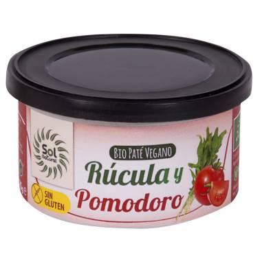 Pate Rucula Y Pomodoro Bio 125g