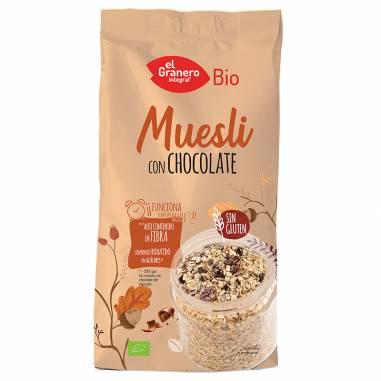 Muesli Con Chocolate Bio 375g