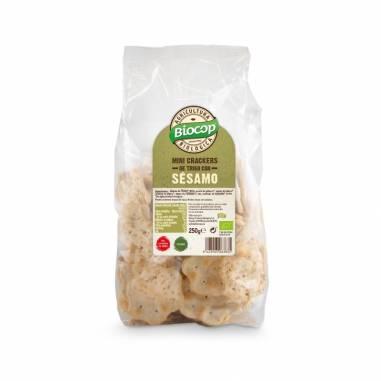 Mini Crackers Trigo Sesamo 250g