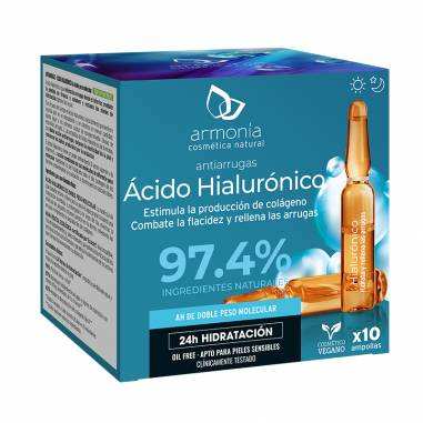 Acido Hialuronico 10 Ampollas