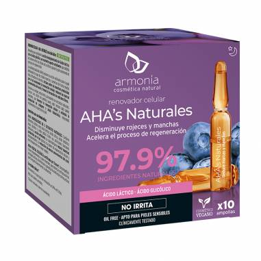 Aha`S Naturales 10 Ampollas