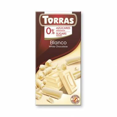 Chocolate Blanco Sin Azucar Añadido 75g