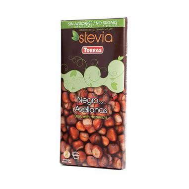 Chocolate Negro Avellanas Con Stevia...