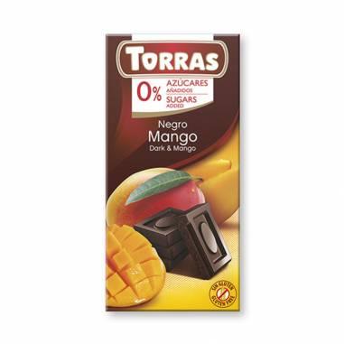 Chocolate Mango Sin Azucar Añadido 75g